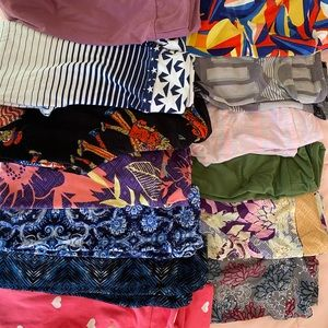 Lot of S/M kids leggings from Lularoe
